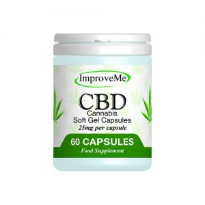 CBD Soft Gel 60 Capsules from ImproveMe