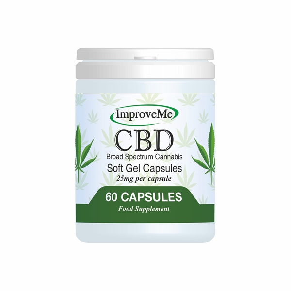 CBD Soft Gel 60 Capsules