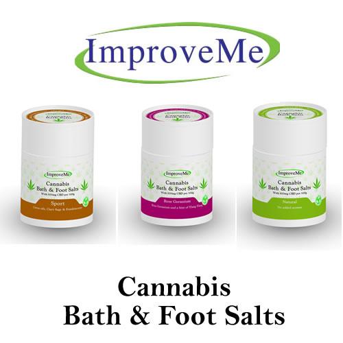 Cannabis Bath & Foot Salts