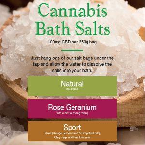 Cannabis Bath Salts