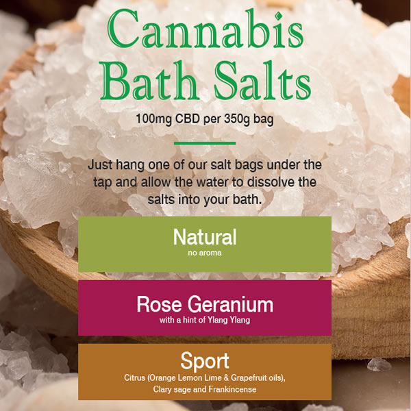 Cannabis Bath Salts